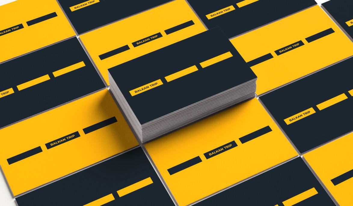 branding, visual identity, printed material, business card